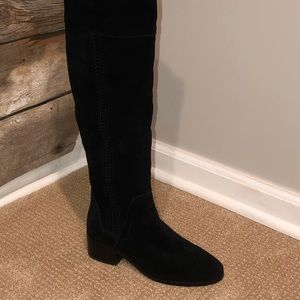 Vince Camuto Black Kochelda Over The Knee Boot